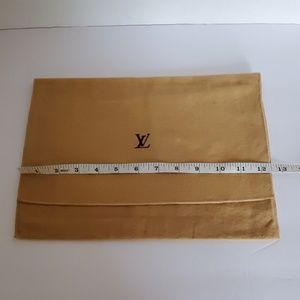 Authentic Louis Vuitton dust bag